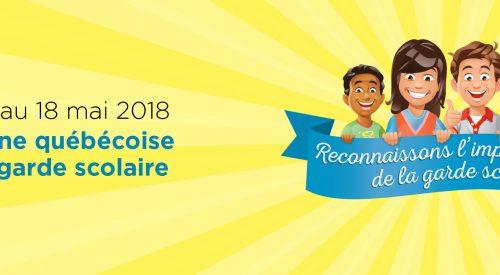 Semaine québécoise de la garde scolaire : soulignons le travail du personnel en garde scolaire!