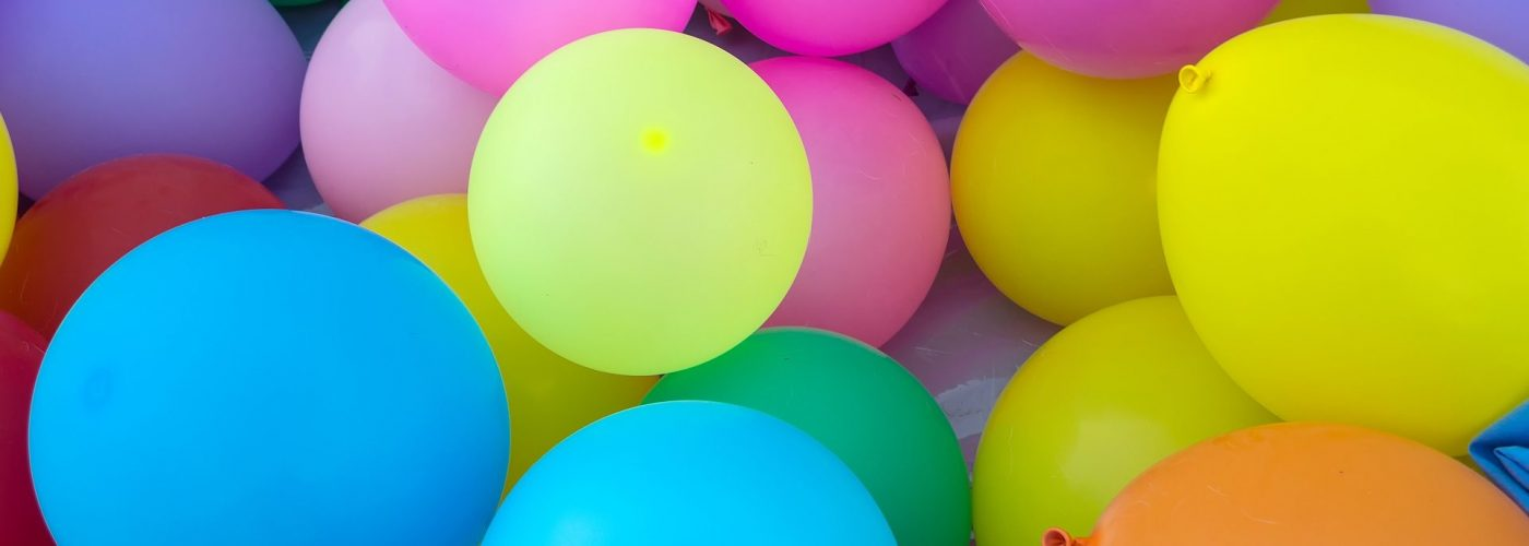 Les ballons gonflables, c'est imbattable!