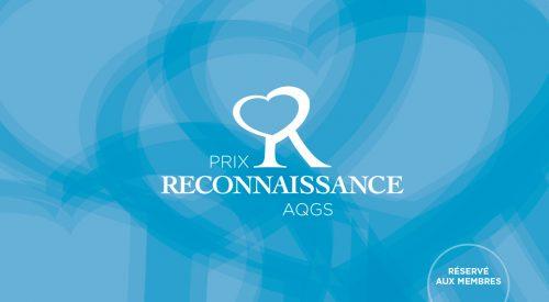 Les lauréats du Prix Reconnaissance AQGS 2021