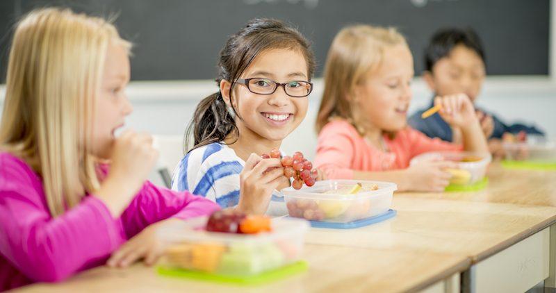 Le repas à l'école en mode COVID-19